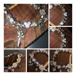 Jewelry - European charm bracelet with charms